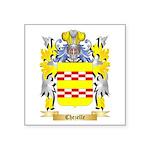 Chezelle Square Sticker 3