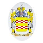 Chezelle Ornament (Oval)