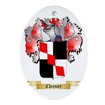 Cheyney Ornament (Oval)