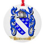 Cheyne Round Ornament