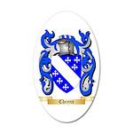 Cheyne 20x12 Oval Wall Decal