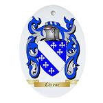 Cheyne Ornament (Oval)