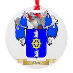 Chew Round Ornament