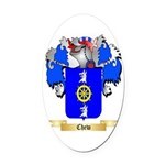 Chew Oval Car Magnet