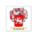 Chevrot Square Sticker 3