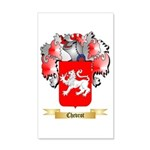 Chevrot 20x12 Wall Decal