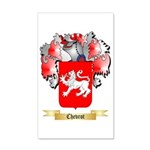 Chevrot 35x21 Wall Decal