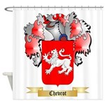 Chevrot Shower Curtain