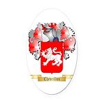 Chevrillon Oval Car Magnet