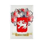 Chevrillon Rectangle Magnet (100 pack)