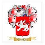 Chevrillon Square Car Magnet 3