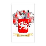 Chevrillon Sticker (Rectangle)