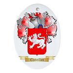 Chevrillon Ornament (Oval)