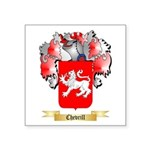 Chevrill Square Sticker 3