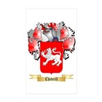 Chevrill Sticker (Rectangle 50 pk)