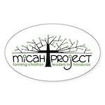 Oval Sticker (50 pack)