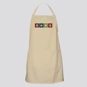 Oh no! Periodic table style. Apron