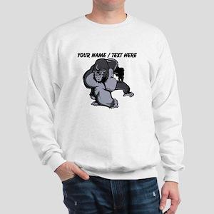 Custom Gorilla Mascot Sweatshirt