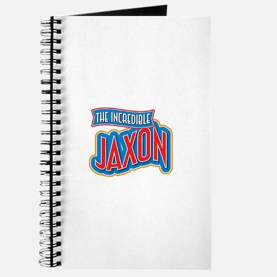 The Incredible Jaxon Journal