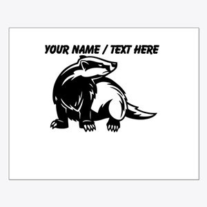 Custom Honey Badger Posters