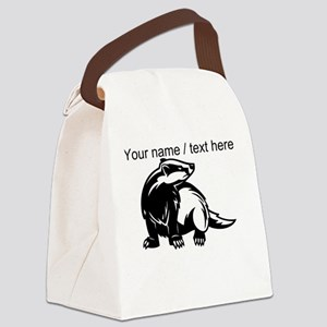 Custom Honey Badger Canvas Lunch Bag