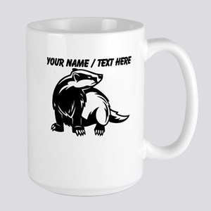 Custom Honey Badger Mug