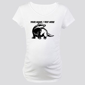 Custom Honey Badger Maternity T-Shirt
