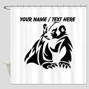 Custom Badger Shower Curtain