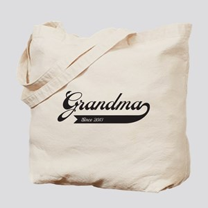 Grandma Swoosh Since 2013 Tote Bag