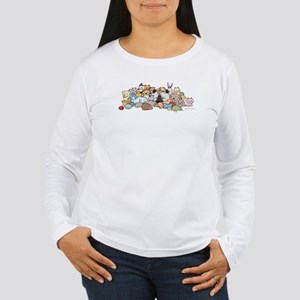 """Keesie & Toys!"" Women's Long Sleeve T-Shirt"
