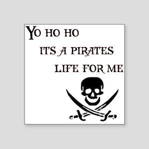 Yo Ho Ho Rectangle Sticker
