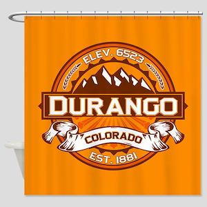 Durango Tangerine Shower Curtain
