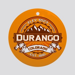 Durango Tangerine Ornament (Round)