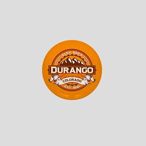 Durango Tangerine Mini Button