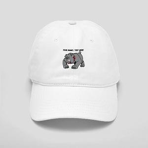Custom Angry Bulldog Baseball Cap