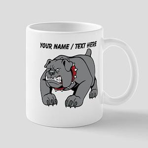 Custom Angry Bulldog Mug