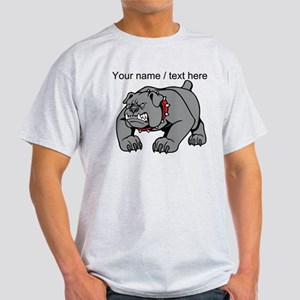 Custom Angry Bulldog T-Shirt