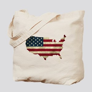 Vintage USA Tote Bag