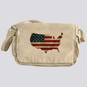 Vintage USA Messenger Bag