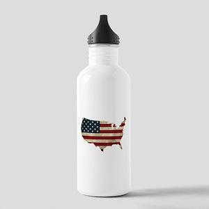 Vintage USA Water Bottle