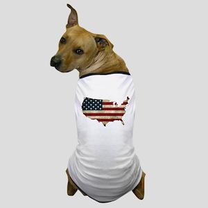 Vintage USA Dog T-Shirt