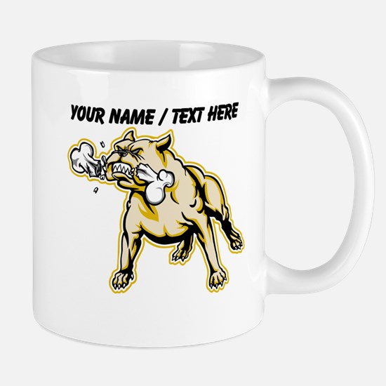 Custom Mean Bulldog Mug