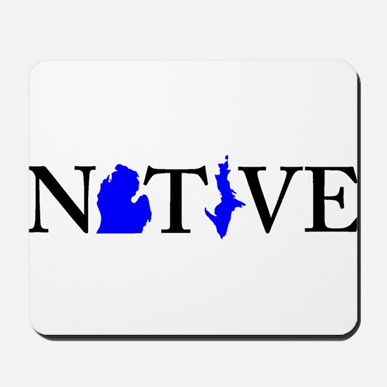 Native Michigander Mousepad