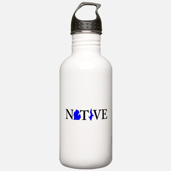 Native Michigander Water Bottle