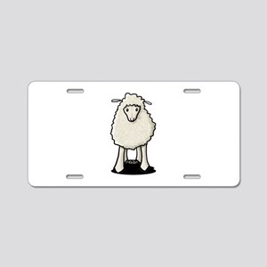 Good Little Sheep Aluminum License Plate