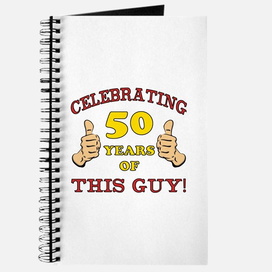 50th Birthday Gift For Him Journal