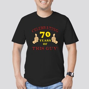 70th Birthday Gift For Him Men's Fitted T-Shirt (d