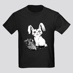 Zombie Bunny Rabbit with Skeleton Carrots T-Shirt
