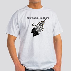 Custom Native American Feathers T-Shirt