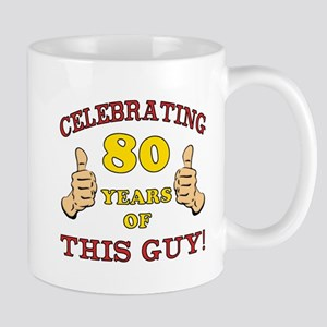 80th Birthday Gift For Him Mug